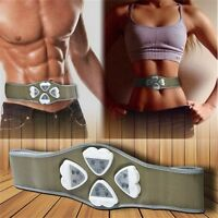 1x AB Gymnic Gymnastic Body Building ABS Belt Exercise Toning  Muscle Fat Loss H