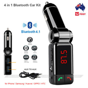Bluetooth-FM-Transmitter-Car-Kit-Mp3-Player-USB-Car-Charger-for-iPhone-X-Samsung