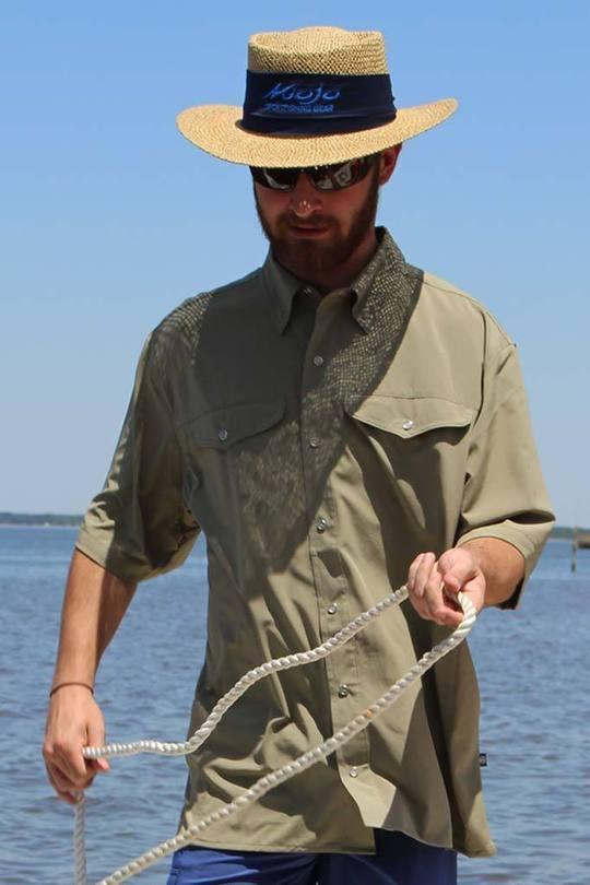 Mojo Mr Cool Ultimate Fishing Short  Sleeve Shirt, Wiregrass, XL  zero profit