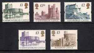 GB-1992-Castles-Stamps-to-5-5-Values-Unmounted-Mint-UK-Seller