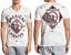 American-Fighter-Mens-Short-Sleeve-T-Shirt-GARDNER-Grey-Wht-Crystal-Wash-40-NWT thumbnail 1