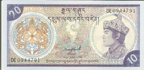 6RW 14DES BHUTAN 10 NGULTRUM 1992  P 15 UNC CONDITION