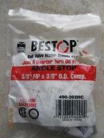 B&k Mueller 490-202hc - 3/8 Fip X 3/8 Od Com Angle Fip Inlet Valve