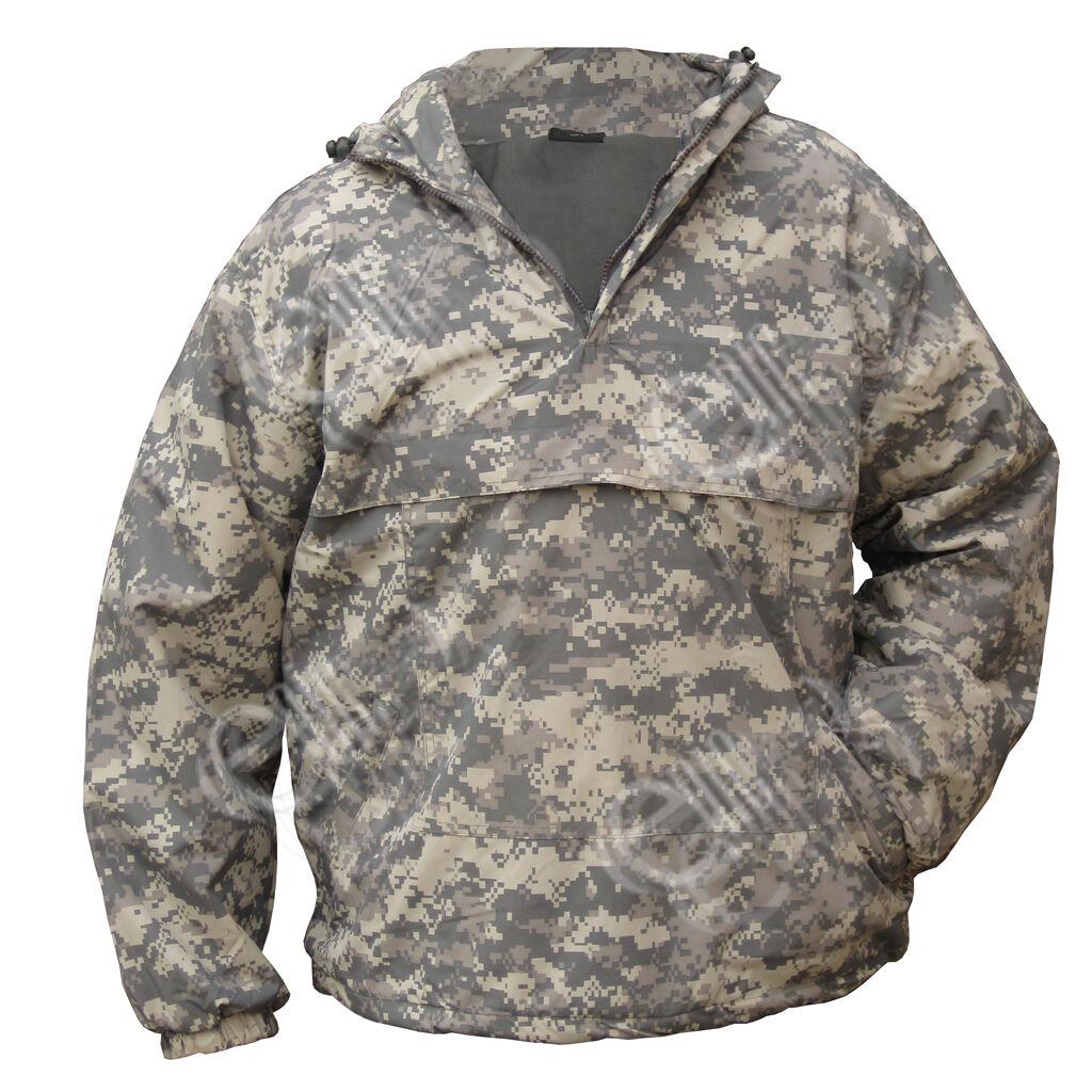 Digital Camouflage à capuche anorak - Champ veste pull manteau armée camouflage
