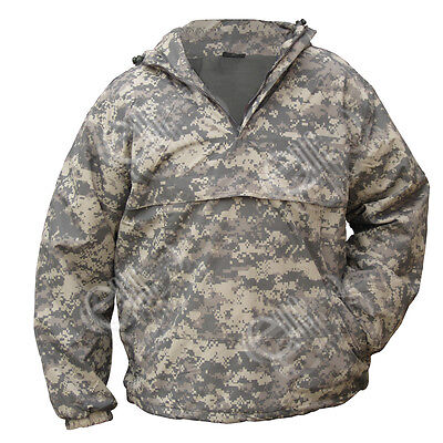 Digital Camouflage Hooded Anorak All Sizes Field Jacket Smock Coat Army
