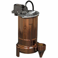 Liberty Pumps 280 - 1/2 Hp Cast Iron Submersible Sump/effluent Pump (non-auto...