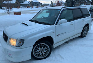 2001 Subaru Forester STI Type II RHD For Sale!!