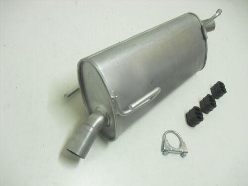 Pot D/'échappement Endschalldämpfer OPEL MERIVA 1.6//1.6 16 V du silencieux avec Kit de montage fourni