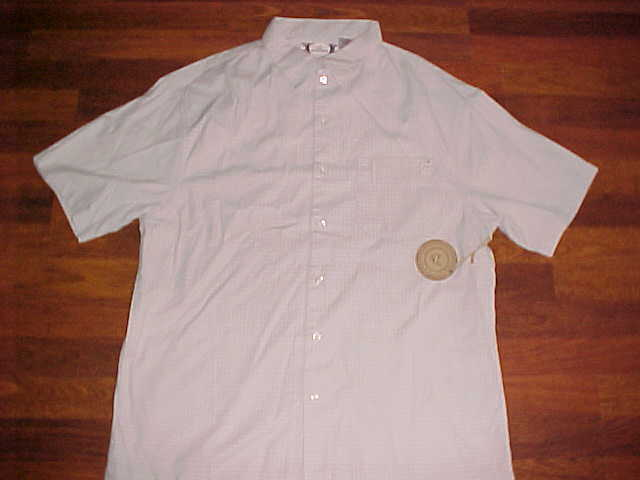 Life On A Board LOAB Surfer Men Button Bamboo Cotton Almond Camp Shirt XL New