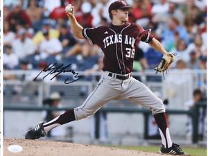 Ross Stripling Signed Texas A&M Aggies 11x14 Photo (JSA COA)