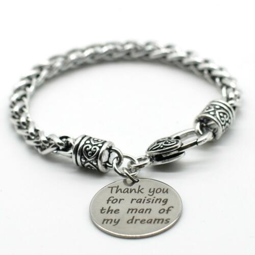 23 Braid Bracelet Inspiration Jewelry,Thank you for Raising the Man of My Dream