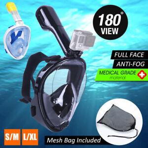 1d4d2b6eb Full Face Snorkeling Mask 180° Seaview Anti Fog Swimming Suitable ...