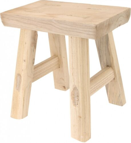 Hocker Sitzhocker Holz 31x31cm