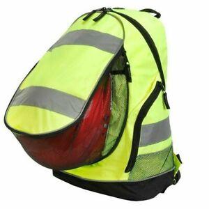 HI-VIS-Motorcycle-Backpack-Football-Basketball-Bag-Cycling-Bike-Helmet-Rucksack