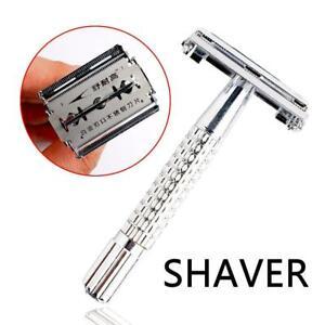 Classic-Shaving-Cutter-Safety-Double-sided-Edge-Razor-Men-Straight-Razor