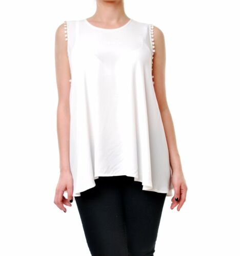 Bcf65 Rrp Blanc Taille 150 Pour Authentic Lovely 60 Femme Chemisier 2401000947544 qwIzZ0X