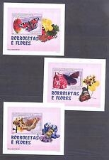 MOZAMBIQUE 2007, Butterflies,  set of 6SS, De Luxe MNH**(10)