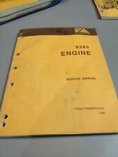 Fiat Allis 8065 Engine Service Manual