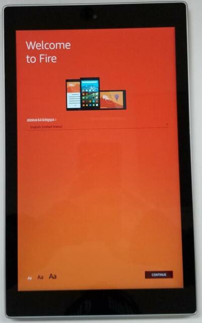 Amazon Fire HD 10 16GB Wi-Fi 10.1 Inch Tablet Silver GOOD Condition
