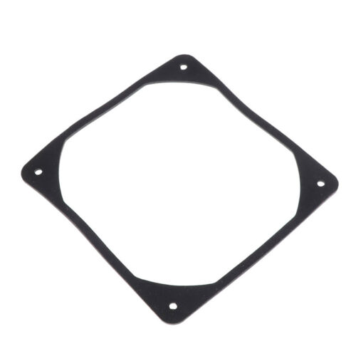 120mm PC Case Fan Anti vibration Gasket Silicone Shock Proof Absorption Pad U WL