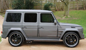MERCEDES-G-CLASS-W463-SIDE-VENTS-FENDERS-VENTS