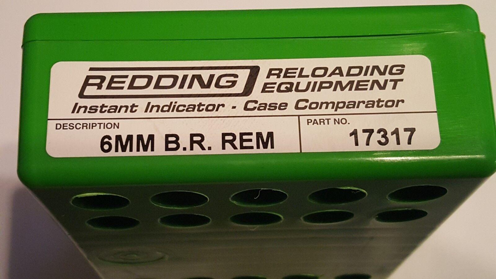 Indicador 17317 rojoDING instantánea con Dial-o 6MM BR REMINGTON-Adaptador de rango Nuevo