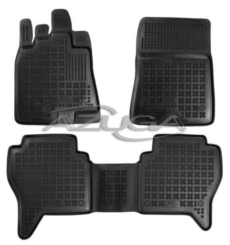 3D Gummi-Fußmatten für Mitsubishi Pajero V80 ab 2//2007 Gummimatten Automatten
