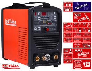 MMA 200 Pro E-Hand ARC Inverter Schweißgerät Elektroden 200Amp 230V IGBT 60/%ED