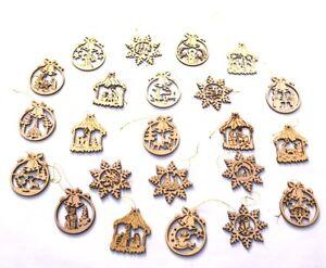Christbaumschmuck Holz Anhänger Weihnachten Baumschmuck