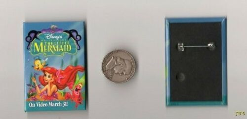 The Little Mermaid Video Pins four