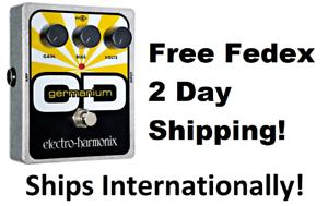 New Electro-Harmonix Germanium OD Overdrive Guitar Effect Pedal