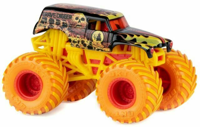 Spin Master 2019 Monster Jam Truck Grave Digger Fire And Ice Walmart For Sale Online Ebay