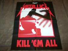 Official Metallica Live Maxi Poster 91.5 x 61cm Master Of Puppets Kill Em All