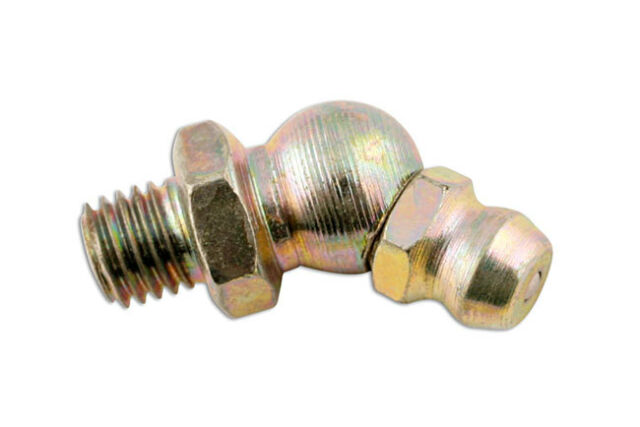 45°Ángulo Engrasador 1/8 Gas Bsp Paquete 50 Connect 31237