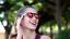 thumbnail 19 - Flip Up Circle Steampunk Glasses Goggles Sunglasses Emo Retro Vintage Cyber Punk