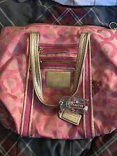 coach poppy pink handbag