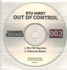 (649K) Stu Hirst, Out Of Control - DJ CD