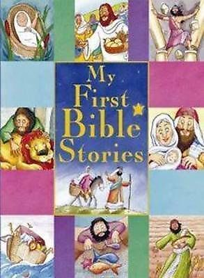 """AS NEW"" , My First Bible Stories (Treasuries) Book"