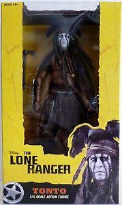 Tonto (johnny Depp) Le Lone Ranger à l'échelle 1/4 Figure de film Neca 2013 634482475324   Inch Movie Figure Neca 2013 634482475324