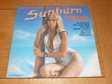 SUNBURN - 22 Blazing disco hits - 1980 UK 22-track vinyl LP
