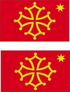 2x-Adhesivo-adesivi-pegatina-sticker-vinilo-bandera-vinyl-moto-coche-occitano