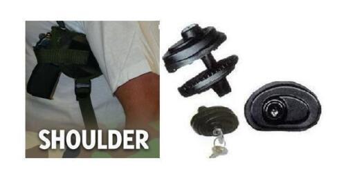 HOLSTER NA GUARDIAN 380,CAMO 203C W// FREE TRIGGER LOCK SHOULDER GUN