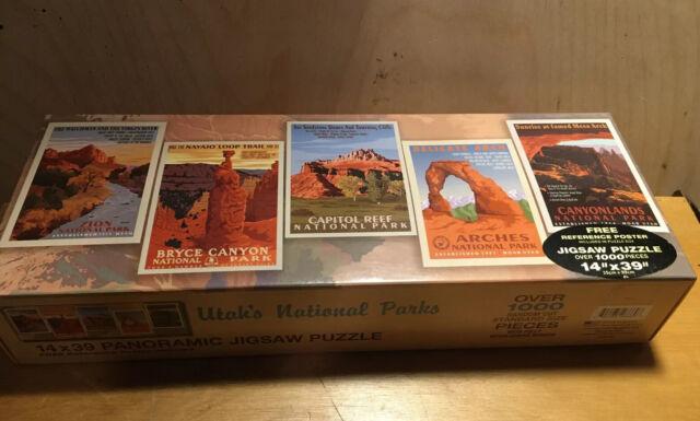 Canyonlands National Park Utah Panoramic 500 Piece Puzzle by Springbok