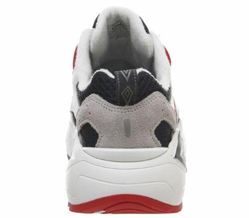 Débardeur UMBRO UMBRO Neptune Baskets Blanc Marine Foncé Vermillion Baskets Chaussures