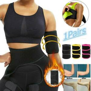 Arm Trimmers Wrap Body Shaper Adjustable Slimmer Sauna Sweat Bands Weight Loss