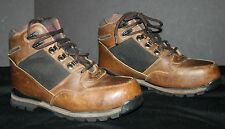 Men's Hiking Mountaineering Boots Size 9W Leather LAKE OF THE WOODS EUC