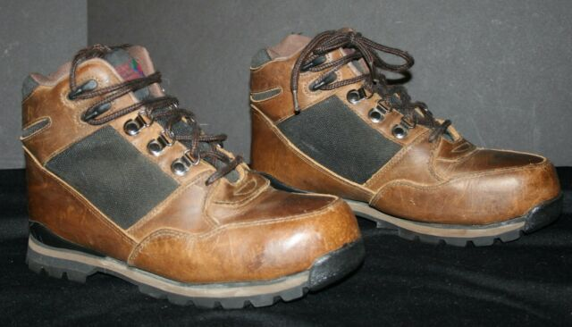 ee901f15855 Men's Hiking Boots Size 9W Leather LAKE OF THE WOODS EUC Lace-up Mountain  Ankle