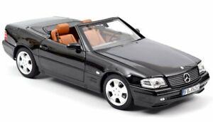 MB Mercedes Benz 500 SL - 1999 - black - Norev 1:18