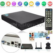 4CH Network DVR HD CCTV Surveillance Security Camera Video Recorder USB HDMI VGA