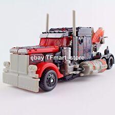 Transformers Movie DOTM Voyager Fireburst Optimus Prime w Energon Axe